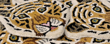 Load image into Gallery viewer, Cloudy Tiger Head rug