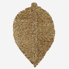 Load image into Gallery viewer, Seagrass Leave Shaped Doormat