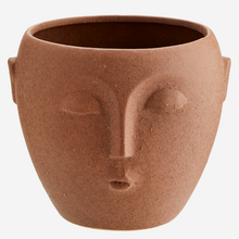 Load image into Gallery viewer, Flower Pot with Face Imprint