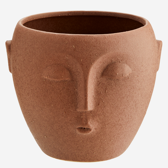 Flower Pot with Face Imprint