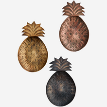 Load image into Gallery viewer, Set of 3 Pineapple Trays