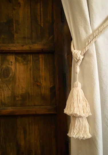 handmade curtain tassel - escape exclusive