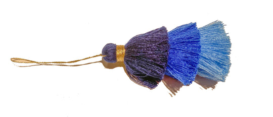 Set of 3 triple layered tassels