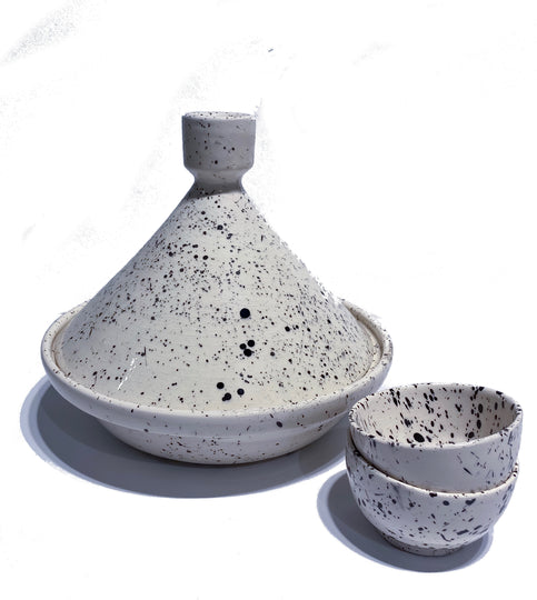 Spotted Ceramic Tagine