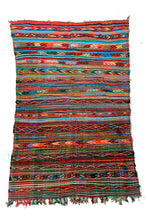 Load image into Gallery viewer, Tribal Kilim Rug 130/220