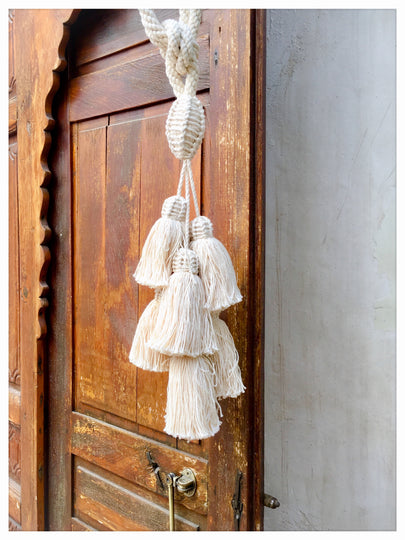 handmade curtain tassel XL - escape exclusive