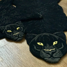 Load image into Gallery viewer, Large Fiery Black Panther Rug