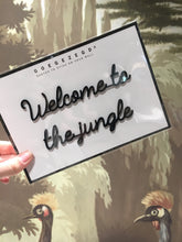 Load image into Gallery viewer, sticker quote - welcome to the jungle