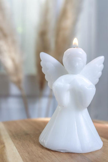Luck in a Box - Angel Candle