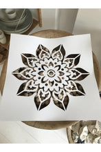 Load image into Gallery viewer, Doily Mandala stencil