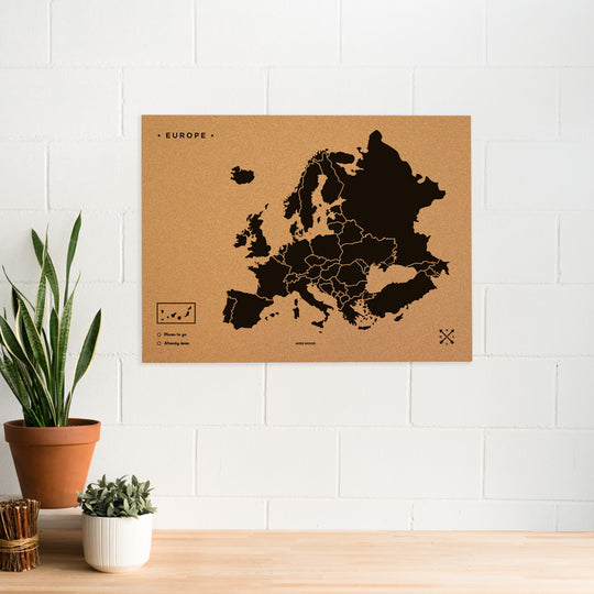 Europe Woody Map XL
