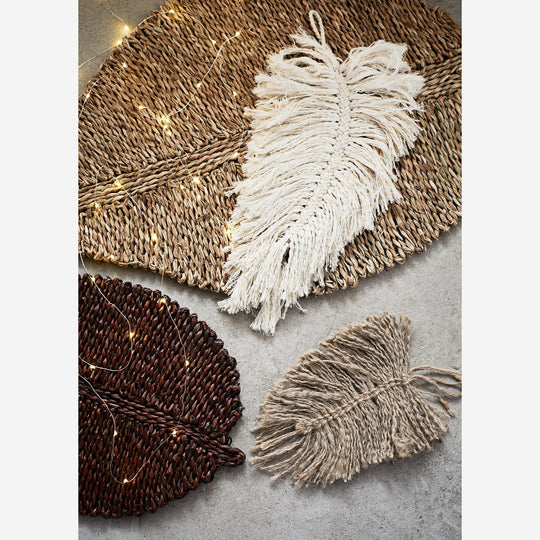 Seagrass Leave Shaped Doormat