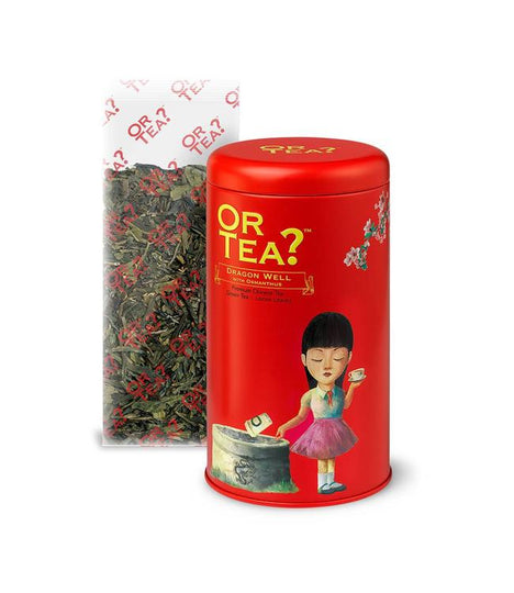 OrTea -Dragon Well with Osmanthus - Sachet Box