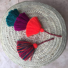 Load image into Gallery viewer, Single colorful handmade tassels - escape exclusive