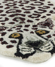 Load image into Gallery viewer, Small Snowy Tiger Rug