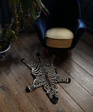Load image into Gallery viewer, Stripey Zebra Rug Small
