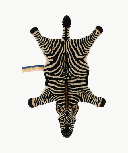 Stripey Zebra Rug Small