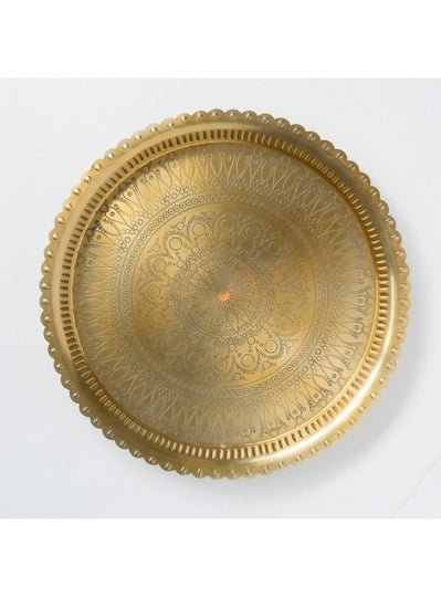 Small Tray Disk Gold