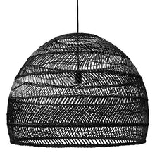 Load image into Gallery viewer, Wicker Hanging Lamp 80cm