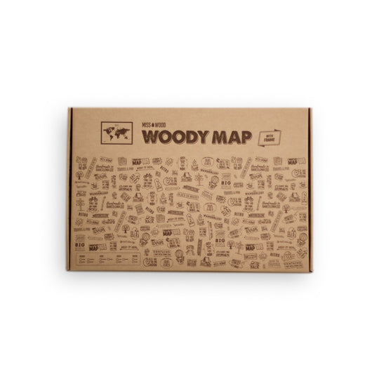 Woody Map Natural XL + frame