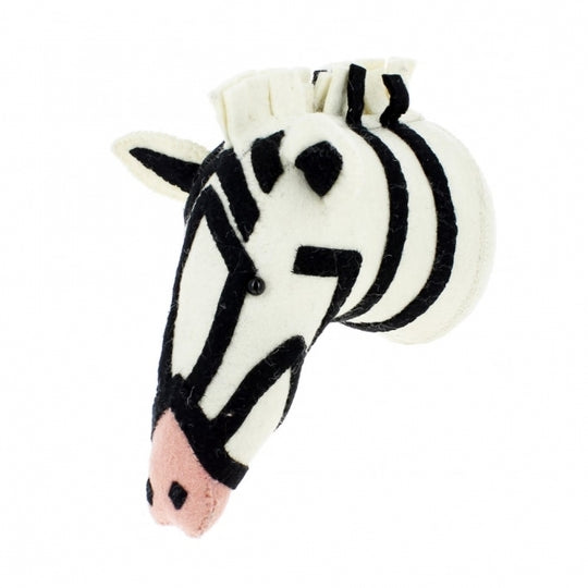 Semi Head - Pink Nose Zebra