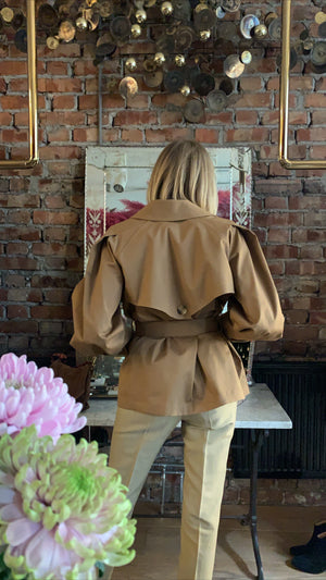 BA&SH - TYSON JACKET - CAMEL