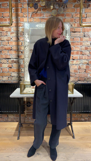 MARK TAN - CELESTE COAT - NAVY
