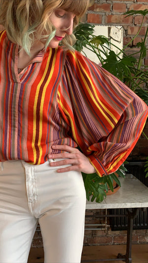 VANESSA BRUNO - LENY BLOUSE - MULTICOLORE
