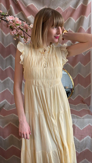 BA&SH - NOAH DRESS - YELLOW