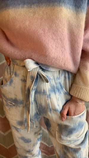 ISABEL MARANT ÈTOILE - BESSIE PANTS - LIGHT BLUE