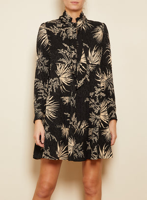 BA&SH - EUGENIE DRESS - BLACK