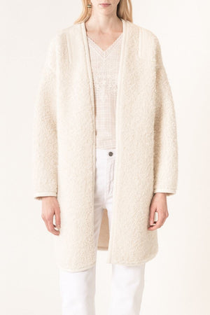VANESSA BRUNO - MARTINE COAT - ECRU