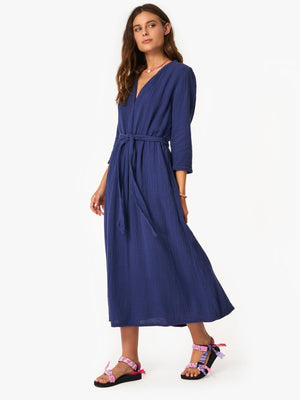 XIRENA - JONI DRESS - CAPRI BLUE