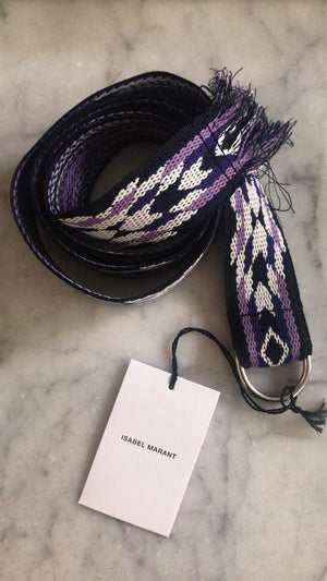 ISABEL MARANT ÈTOILE - UTKO BELT - MIDNIGHT