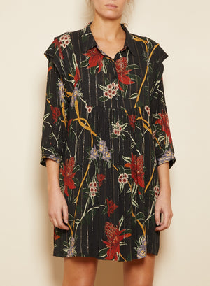 BA&SH - PAPRIKA DRESS - BLACK