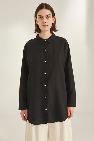 KOKOON - BIANCA SHIRT - BLACK