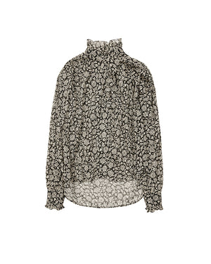 ISABEL MARANT ÈTOILE - PAMIAS TOP - BLACK