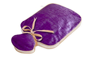 HOLISTIC SILK - HOT WATER BOTTLE - LILAC SILK VELVET