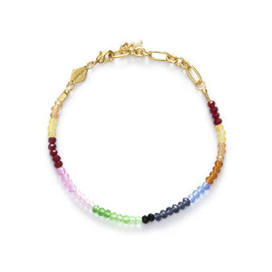 ANNI LU - CHASING RAINBOWS BRACELET - GOLD