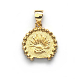 ANNI LU - LOVE SEEKS PENDANT - GOLD