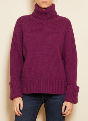 BA&SH - NAGORA JUMPER - PURPLE