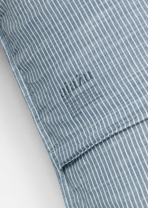 AIAYU DOMUS - PILLOW CASE STRIPED 50X70 - INDIGO