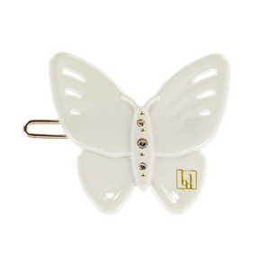 BON DEP - BUTTERFLY CLIP OFF WHITE