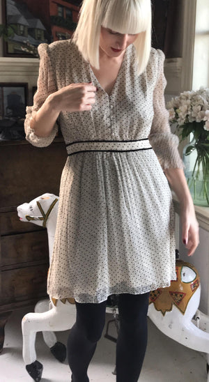 BA&SH - DOLLY DRESS - OFFWHITE