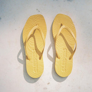 SLEEPERS - Tapered - Mustard