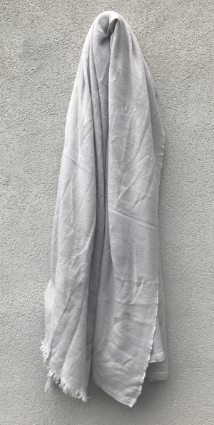 PRIVATE0204 - SIML SCARF - COLD GREY