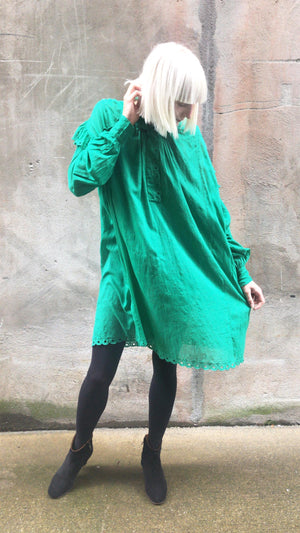 ISABEL MARANT ÈTOILE - EMMA DRESS GREEN