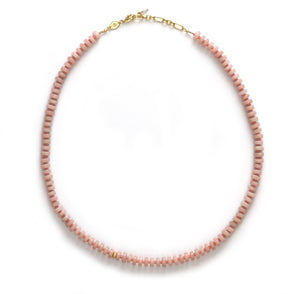 ANNI LU - The Big Pink Necklace - Pink Opal