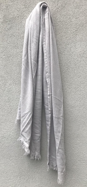 PRIVATE0204 - SIM SCARF - COLD GREY