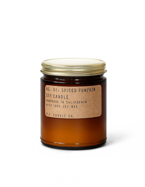 P.F. CANDLE CO. - NO.1 SPICED PUMPKIN 7.2 OZ